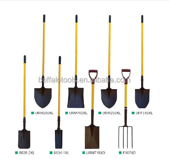 Different Landscaping Tools : Verschillende type van duwen spade tuingereedschap
