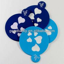 Good quality promotion gift pvc coaster