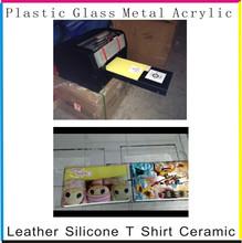 A4 flatbed inkjet printer for pen, pvc card, phone case printing
