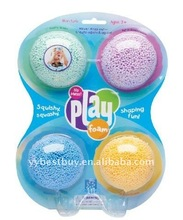 Educational Insights PlayFoam Classic 4 Pack,multi color