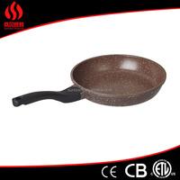 Non Stick diamond coated frying pan blue ceramic fry pan fry pan without lid
