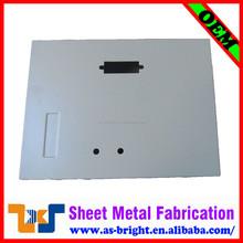 Sheet metal enclosure electrical panel box sizes