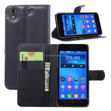 Wallet cell phone case for huawei honor 4 play leather case for huawei honor4