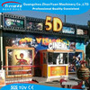 2015 Electric 9 seats 5D cinema theater simulator cinema 7d
