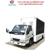 LED billboard TV, display truck with display screen, outdoor moving advertising truck for sale