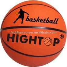 HIGHTOP custom rubber basketball ball/ cheap price basketballs