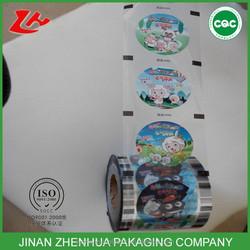 bubble tea cups sealer films , customized bubble tea cup sealing film
