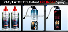 car / motor / bicycle sealant & inflator spray