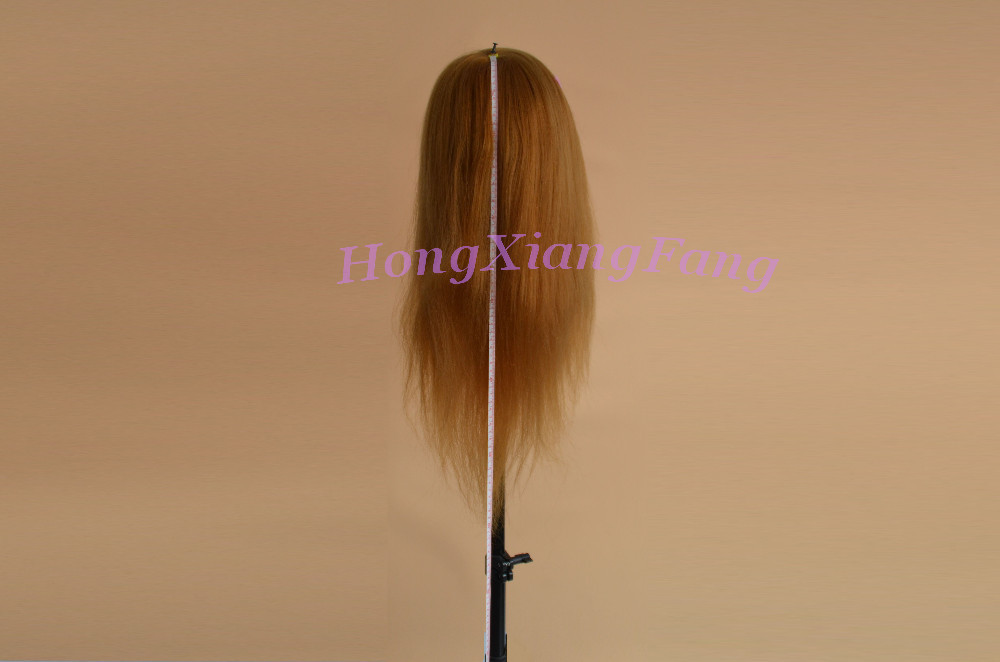 Free Shipping Mannequin Dummy Manequin Cosmetology Mannequin Heads 80% Blonde Human Hair Training Mannequin Head With Human Hair