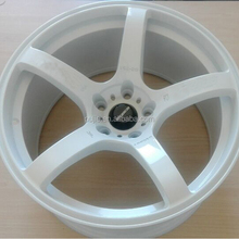 New Design 18 inch White Wide Tunning Alloy Wheels for Car