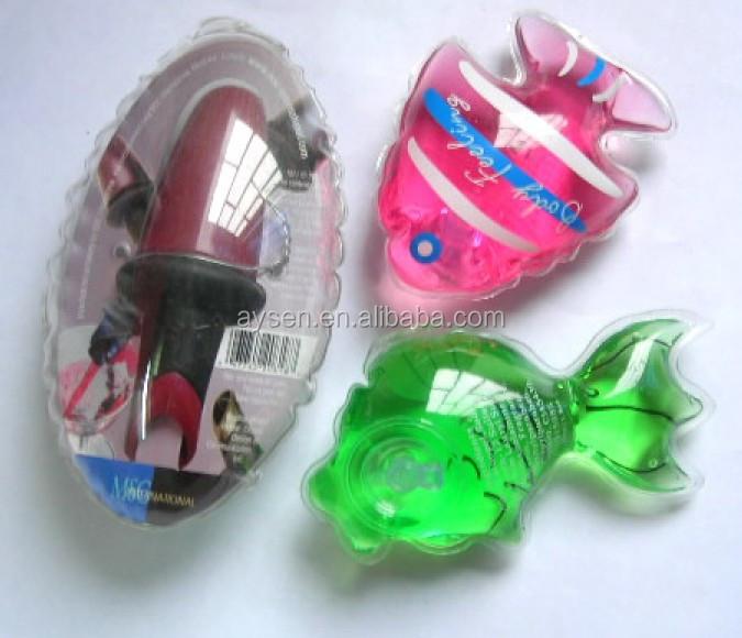 Diseño popular barato costumbre pvc inflable bolsa de ducha de espuma