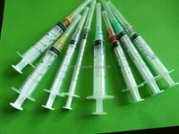 Disposable Syringe Cheap Prices with 3 part Plastic