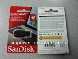 SanDisk Cruzer Blade USB Flash Drive 32GB SDCZ50