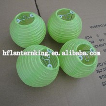 Light color small paper lantern for decoration