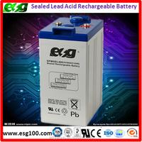 Lead Acid Deep Cycle Battery 2V400AH Battery for Solar System
