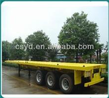 3 Axle 40T Flatbed Semi Trailer for sale