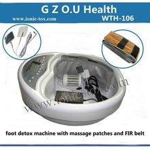 nova desintoxicação máquina de exercício pé com massagem e função cinto FIR