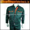 ropa de trabajo uniforme con el diseño de manga larga