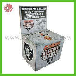 Hot sale corrugated ballot box with header
