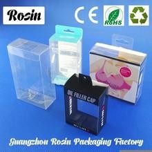 Customized plastic packaging/plastic tuck box ,plastic box