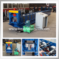 Automatic seamless gutter cold roll making machine