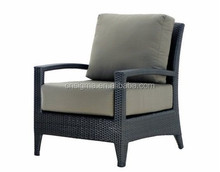 2015 Outdoor furniture rattan single armchairs sofa furniture