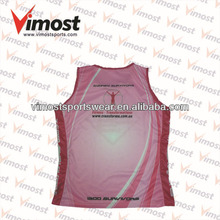 freight included custom running singlet garment