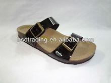 2015 Latest Ladies Flat Leather NO HEEL Sandals