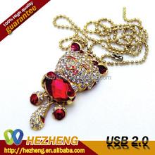 Alibaba Wholesale Cheap Fancy Jewelry 8GB Cat USB Pen Drive