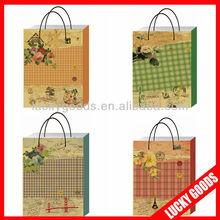2013 HOT SALE Packaging Paper Bag kraft shopping bag