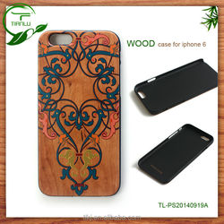 for iphone 5c solid bamboo wooden hard Case,for 5c phone accessories OEM CUSTOM SERVICE factory price