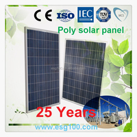 High Efficiency 80w PV Polycrystalline silicon solar panel module