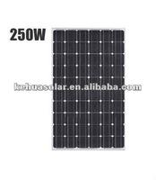 KH-250W Mono-crystalline Solar Panle modules