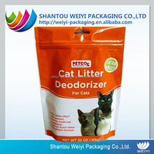 dry cat food wraps/plastic wrap for food colored/natural cat food pouch