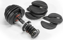5-52LBS adjustable dumbbell/ weight lifting dumbbell/ 1090 weight dumbbells