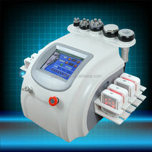 Cavitation RF vacuum laser system RF beauty machine,combination all advanced technology for body shaping