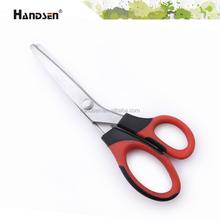 "Popular 9"" TPR handle soft grip new pinking scissors"