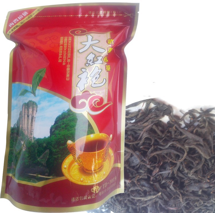 Фабрика направляет 250г высшего класса 2015 clovershrub dahongpao красные робы dahongpao чай похудеть чай + подарок