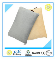 Pure Color Foldable Electric Heating Pillow Blanket