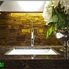 quality semiprecious stone slab ,stone mosaic tiger eye slab for countertop and sink