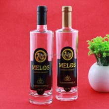 Superior 500ml mojito alcohol glass bottle glass bottle wholesale glass wine bottle