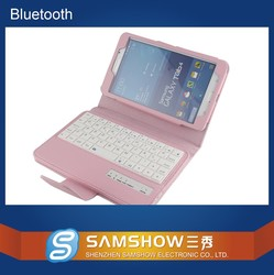 2015 Wholesale Durable Multicolor Shenzhen Wireless Samshow Bluetooth Keyboard for Samsung