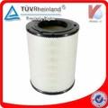 de alto rendimiento del filtro de aire para el motor diesel