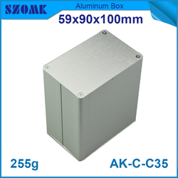 Project electronic wall mount aluminum box RFID card reader electronic box