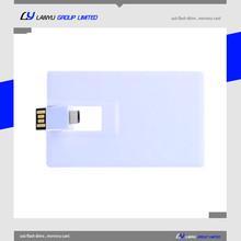 new OTG usb memory flash drive credit card shape mobile phone usb 4gb 8gb