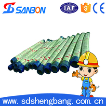 4 inch stainless steel braided teflon flexible rubber hose