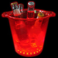 hot led beer bucket