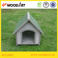 Hot sale! Classical Design Popular Dog Kennel with PVC door flap