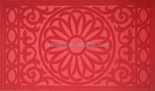 Anti slip kitchen floor mat, custom logo vans door mat, printing pp mat