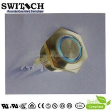 CE UL metal miniature push button switch